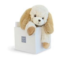 Doudou Softy chien écru 45 cm