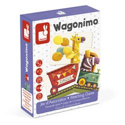 Jeu d'association Wagonimo