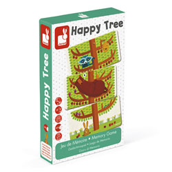 Jeu de mémoire Happy Tree