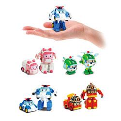 Figurine transformable Robocar Poli 8 cm