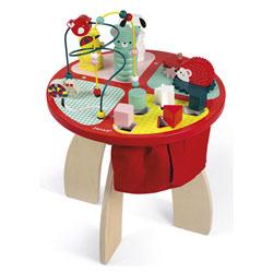 Table d'activités baby forest en bois