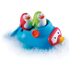 Jouet de bain pingouins