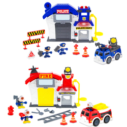 Caserne de pompier OU police