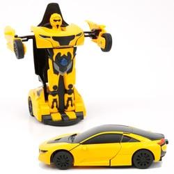 Voiture transformable en robot