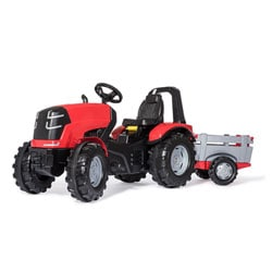 Tracteur à pédales Rolly X Premium Rouge