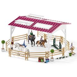 Schleich Horse Club Caravane Club-Réunion chevaux personnage jeu figurine 23 cm 42415