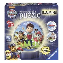 Puzzle 3D lumineux 72 pièces Pat'patrouille