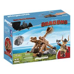 9245 - Dragons Gueulfor avec catapulte - Playmobil Dragons