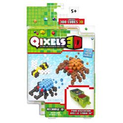 Qixels 3D-Recharge insectes