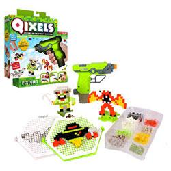 Coffret Qixels avec pistolet et kit création design