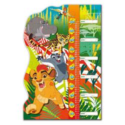 Puzzle 30 pièces avec toise La Garde du Roi Lion