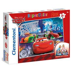 Cars-Puzzle de sol 40 pièces