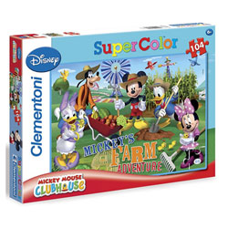 Mickey Club House-Maxi puzzle 60 pièces
