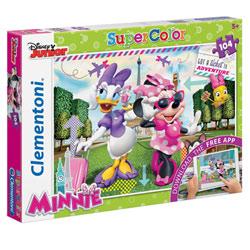 Minnie-Puzzle 104 pièces application
