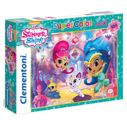 Shimmer and Shine-Maxi puzzle 104 pièces