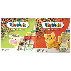 Playmais-Coffret 2 boites animaux