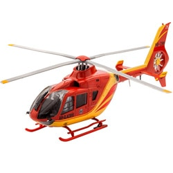 Maquette Airbus hélicoptère EC135 Air-Glaciers