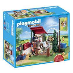 6929-Box de lavage pour chevaux-Playmobil Country