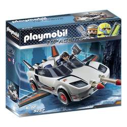 9252 - Voiture de l'agent pilote Playmobil Top Agents