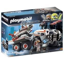 9255 - Camion et navette de la Spy Team Playmobil Top Agents