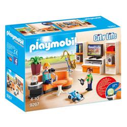 9267 - Playmobil City Life - Salon équipé Playmobil
