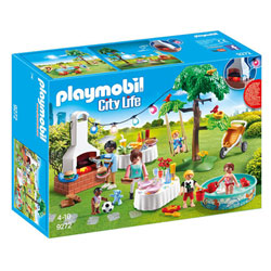 9272 - Playmobil City Life - Famille et barbecue estival