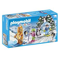 9282 - Moniteur de ski avec enfants Playmobil Family Fun