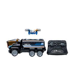 Drone et camion radiocommandés Mission