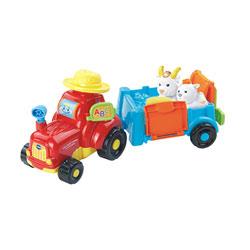 Super tracteur à remorque - Tut Tut Animo