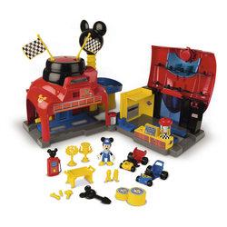 Garage de course Mickey Mouse