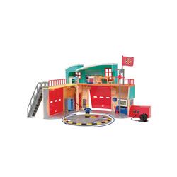 Sam le pompier - caserne de pompier pontypandy - + 1 figurine - piles incluses