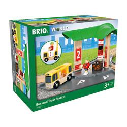 Brio World 33427-Gare avec connexion routière