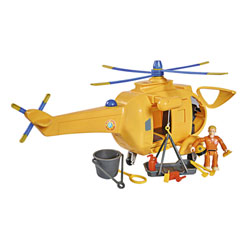 Sam le pompier - helicoptere wallaby 2 - + 1 figurine - fonctions sonores et lumineuses