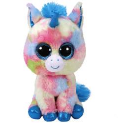 Beanie Boo's-Peluche Blitz la licorne 15 cm