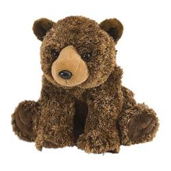 Peluche ours brun 30 cm