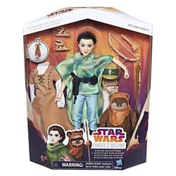 Star Wars Destiny-Poupée Leia et Peluche Ewok