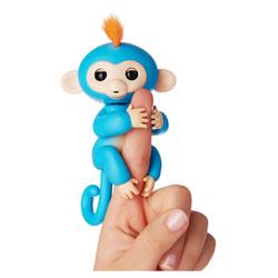 Fingerlings singe agrippeur bleu