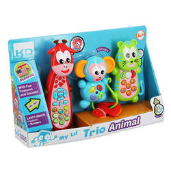 Coffret jouets d'éveil animaux