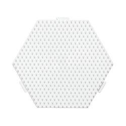 Plaque hexagonale perles à repasser
