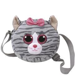 Sac bandoulière peluche kiki le chat