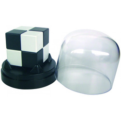 Casse-tête cube noir et blanc