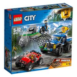60172 - LEGO® City La course-poursuite en montagne