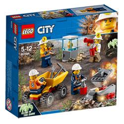 60184 - LEGO® City L'équipe minière