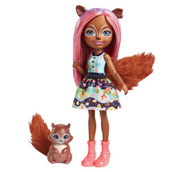 Poupée Enchantimals écureuil