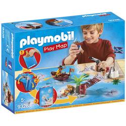 9328 - Pirates avec support de jeu Playmobil Pirates