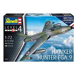Maquette d'avion 100 ans RAF Hawker Hunter