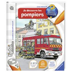 Tiptoi Livre interactif je découvre les pompiers