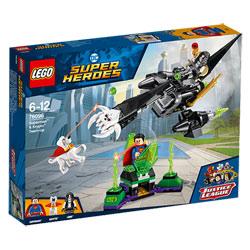 76096 - LEGO® DC Super Heroes L'union de Superman et Krypto