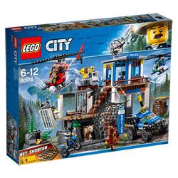 60174 - LEGO® City Le poste de police de montagne