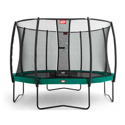 Trampoline Champion Green 270 Safety Net Comfort